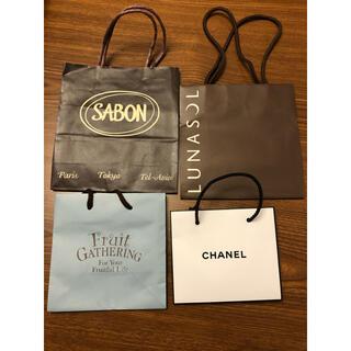 サボン(SABON)のショッピングバック(ショップ袋)