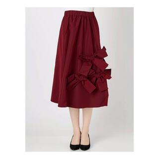 メリージェニー(merry jenny)のメリージェニー リボンスカート(ロングスカート)