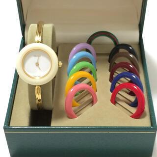 グッチ(Gucci)の5.グッチ GUCCI 時計 チェンジベゼル(腕時計)