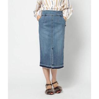 バンヤードストーム(BARNYARDSTORM)の再値下げ BARNYARDSTORM  デニムタイトスカート(ひざ丈スカート)