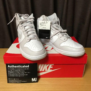 ナイキ(NIKE)のNIKE DUNK HIGH RETRO VAST GREY 30 cm 新品(スニーカー)