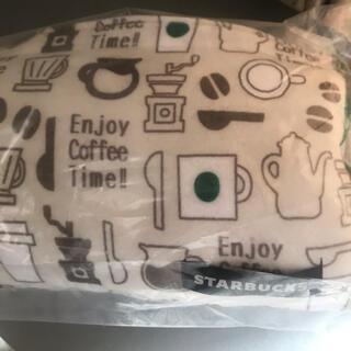 スターバックスコーヒー(Starbucks Coffee)のスタバ トライアングルクッション 未使用(クッション)