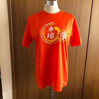 ジュウイック(JUIC)のJUIC 卓球 Tシャツ オレンジ 美品 (卓球)