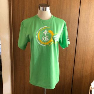ジュウイック(JUIC)のJUIC  卓球 Tシャツ グリーン 美品(卓球)