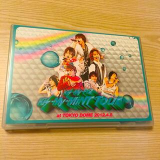 キスマイフットツー(Kis-My-Ft2)のキスマイミントツアー ライブDVD 通常盤(ミュージック)