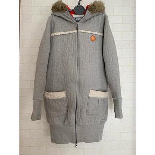 Roxy - ROXY ファー付き中綿コート