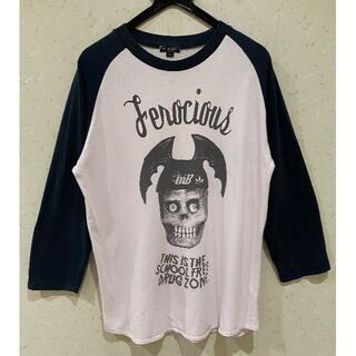 ミルクボーイ(MILKBOY)の*ミルクボーイ MILK BOY プリント ラグラン Tシャツ M(Tシャツ/カットソー(七分/長袖))