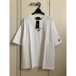 カンゴール(KANGOL)の新品[ KANGOL ]カンゴール オーバサイズロゴ刺繍Tシャツ(Tシャツ/カットソー(半袖/袖なし))