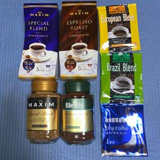 エイージーエフ(AGF)のマキシム ハンディドリップ ドトールコーヒー ブレンディ インスタントコーヒー(コーヒー)