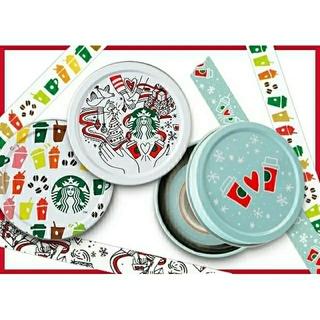 スターバックスコーヒー(Starbucks Coffee)の2017 スターバックスコーヒー ホリデー マスキングテープ(テープ/マスキングテープ)