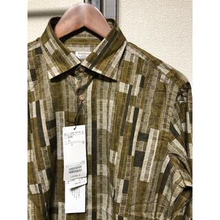 ビームス(BEAMS)のBorriello / 別注 ジオメトリックパターン セミワイドカラー シャツ(シャツ)
