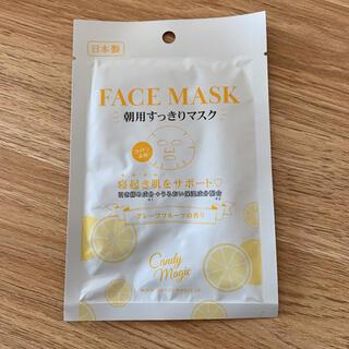 FACE MASK 朝用すっきりマスク グレープフルーツの香り 顔パック(パック/フェイスマスク)