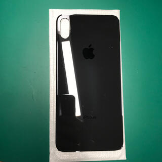 アップル(Apple)のiPhone XS Max 交換用バックパネルスペースグレー(スマートフォン本体)