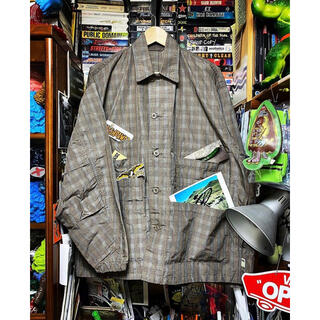 BEAMS - ssz ENERGY JACKET   Check   サイズS