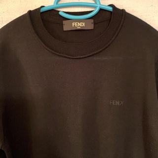 FENDI - 【FENDI】※定価約8万円 ブラックニットウール100%  Ssize