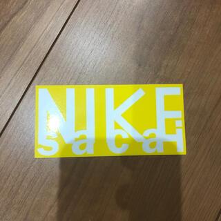 サカイ(sacai)のNIKE sacai コラボステッカー(その他)