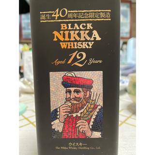 アサヒ - ブラックニッカウィスキー12年 限定製造 BLACK NINNA WHISKY