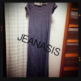 ジーナシス(JEANASIS)のJEANASIS マキシワンピ(ロングワンピース/マキシワンピース)
