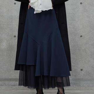 ラベルエチュード(la belle Etude)のLA BELLE ETUD アシンメトリーマーメイドスカート(ロングスカート)