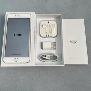 アイフォーン(iPhone)の★USED★ iPhone 6plus silver 64GB SIMフリー(スマートフォン本体)