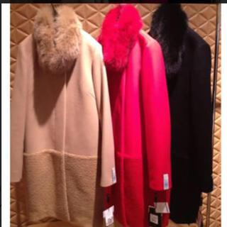 ダブルスタンダードクロージング(DOUBLE STANDARD CLOTHING)のダブルスタンダード ヴァニラクチュール コート ファー(ロングコート)