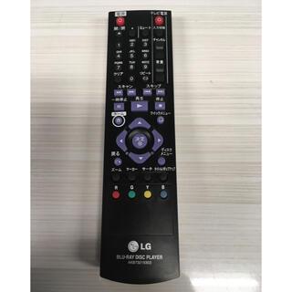 エルジーエレクトロニクス(LG Electronics)のLG Blu-ray Player リモコン(その他)