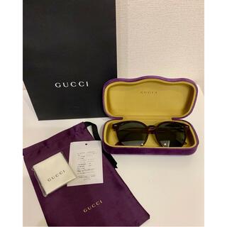 グッチ(Gucci)の【新同 美品】グッチ 正規品 GUCCI 定価41880円 サングラス(サングラス/メガネ)