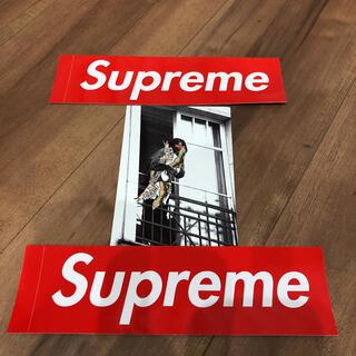 シュプリーム(Supreme)のSupreme®/ANTIHERO® Balcony Tee  ステッカー(Tシャツ/カットソー(半袖/袖なし))