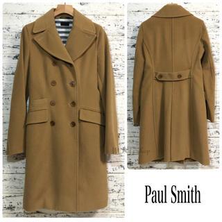 Paul Smith - ポールスミス ▷ ロングコート ウールコート ベージュ アンゴラ 羊毛