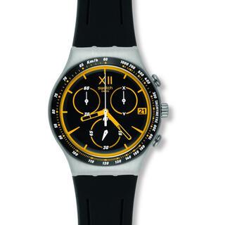 スウォッチ(swatch)の【Swatch】スウォッチ 腕時計 クロノグラフ ブラック YCS567(腕時計(アナログ))