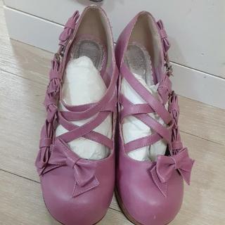 ベイビーザスターズシャインブライト(BABY,THE STARS SHINE BRIGHT)のbaby ピンク ヒール 靴(ハイヒール/パンプス)