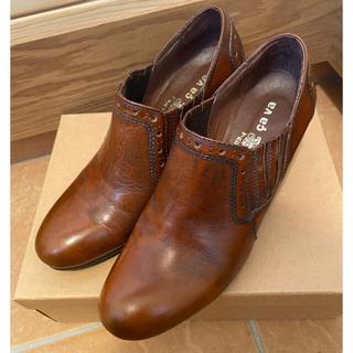 サヴァサヴァ(cavacava)のサバサバ cavacava ショートブーツ ブーティー  24cm(ブーティ)