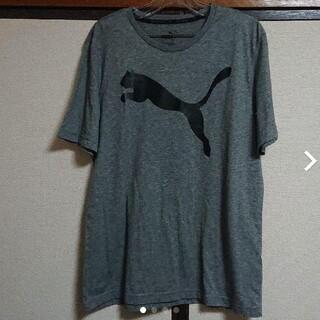 プーマ(PUMA)のPUMAグレーテイシャツ(シャツ)