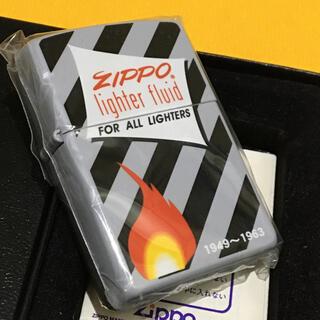 ジッポー(ZIPPO)のZIPPO ビンテージ アーリーオイル缶デザイン 新品未使用(タバコグッズ)