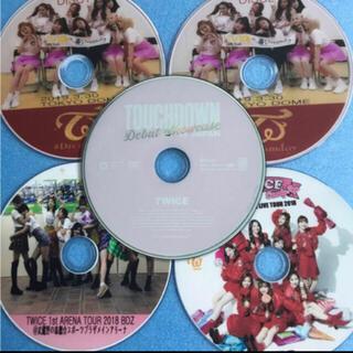 ウェストトゥワイス(Waste(twice))のTWICE 日本語バージョン DVD 5枚セットTWICE❤初心者用(アイドル)