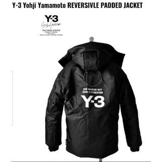 ワイスリー(Y-3)の新品Y-3 ダウンジャケット Y-3 M PATTED JACKET 刺繍サイン(ダウンジャケット)