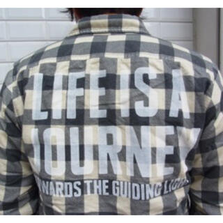 Block check Flannel CPO JKT