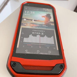 キョウセラ(京セラ)のトルク Android スマホモック(スマートフォン本体)
