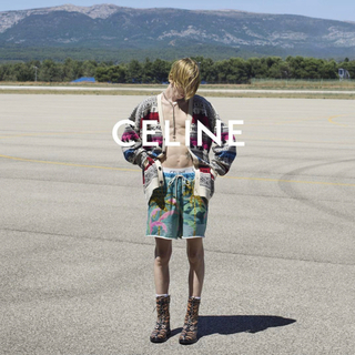 celine - 21SS セリーヌ CELINE ルーズカーディガン ジャカード フェアアイル