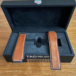 タグホイヤー(TAG Heuer)のタグホイヤー コネクテッド 45 レザーベルト ブラウン カレラ キャリパー5(レザーベルト)