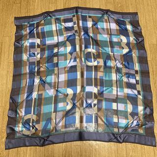 バレンシアガ(Balenciaga)のバレンシアガ シルク スカーフ 大判(バンダナ/スカーフ)