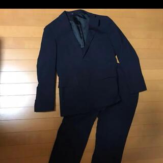 アオキ(AOKI)のメンズ スーツ ritorno  青木 ストライプ  ネイビー  紺 黒(セットアップ)