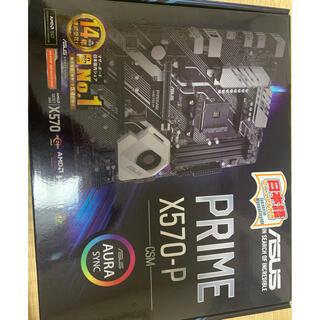 エイスース(ASUS)のasus X570-P マザーボード(PCパーツ)