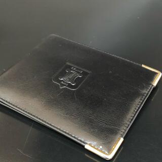 セリーヌ(celine)のセリーヌ ブラック二つ折り財布 超美品(折り財布)