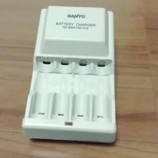 サンヨー(SANYO)のニッケル水素電池、カドニカ電池専用充電器 SANYO NC-M38(バッテリー/充電器)