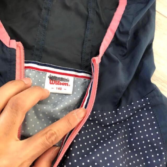 wilson(ウィルソン)のウィルソン ブルゾン キッズ/ベビー/マタニティのキッズ服女の子用(90cm~)(ジャケット/上着)の商品写真