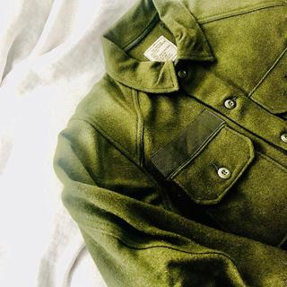 サンタモニカ(Santa Monica)のUS ARMY デッドストックウールライナー vintage  希少(ミリタリージャケット)