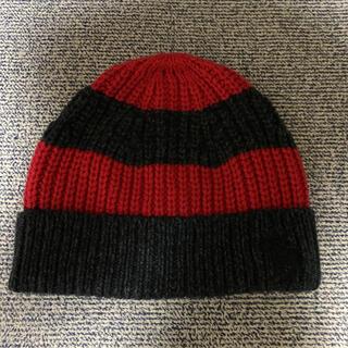 アバクロンビーアンドフィッチ(Abercrombie&Fitch)のアバクロ  ニット帽子(ニット帽/ビーニー)