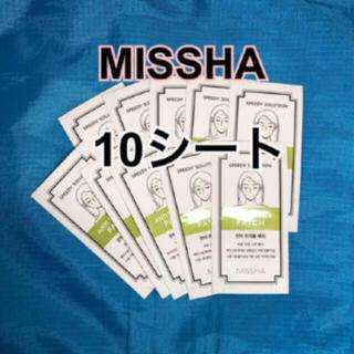 ミシャ(MISSHA)のニキビパッチ ☘️  ミシャ ニキビパッチ 10シート(その他)