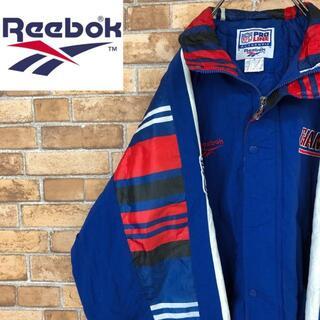 リーボック(Reebok)の☆リーボック☆ニューヨーク・ジャイアンツ 中綿ナイロンジャケット NFL チーム(ナイロンジャケット)